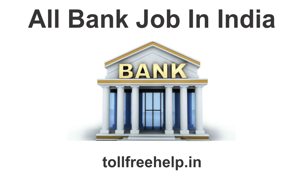 All Bank Job In India