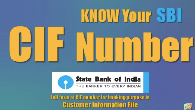 What is CIF Number & How to Find CIF Number in SBI (State Bank of
