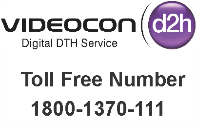 videocon d2h customer care toll free number