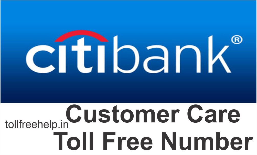 citi bank customer care toll free number