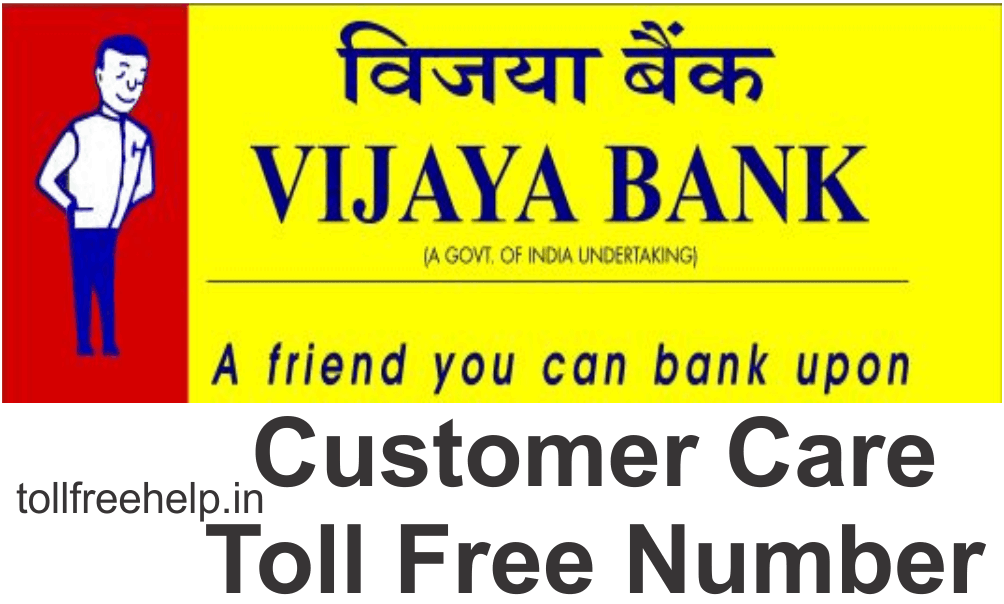 vijaya bank customer care toll free number
